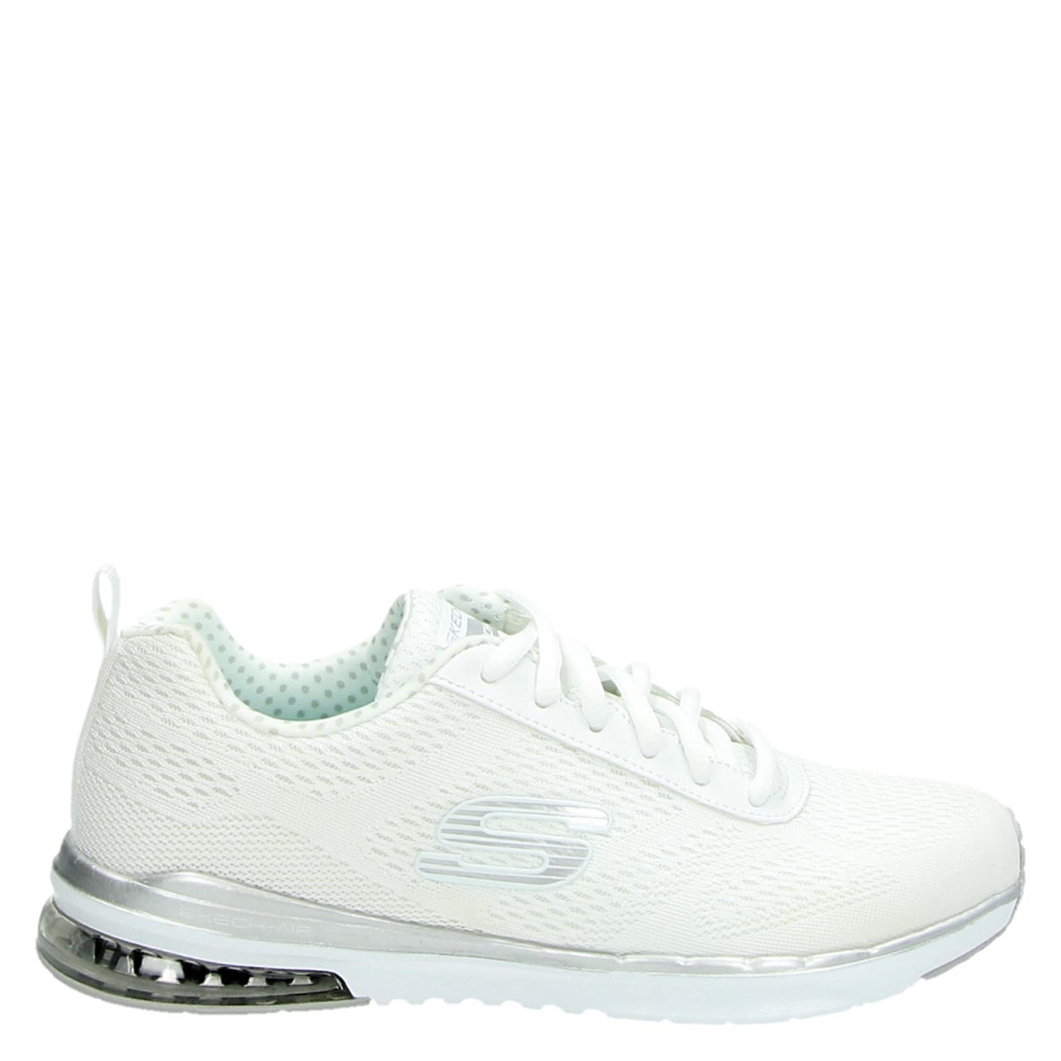 new styles hot sale hot new products Skechers Skech-Air Infinity dames lage sneakers wit