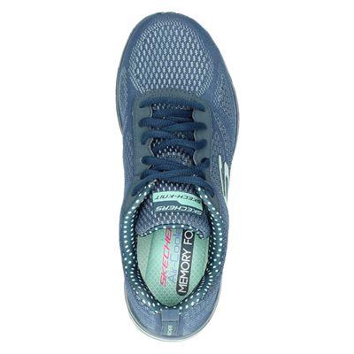 Skechers dames lage sneakers Blauw