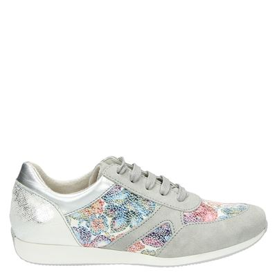 Tamaris dames sneakers grijs