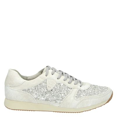 Tamaris dames sneakers zilver
