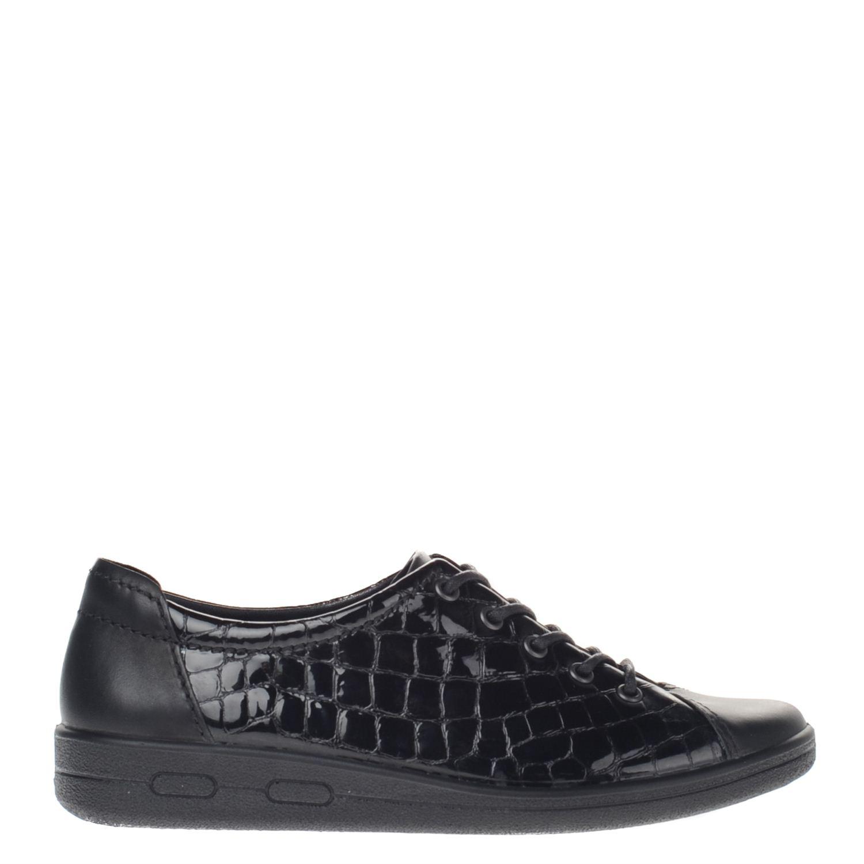 Doux Bureau Chaussures Ecco Noir Femmes De Bureau 5dWEJ