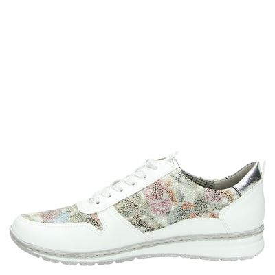 Jenny dames lage sneakers Wit