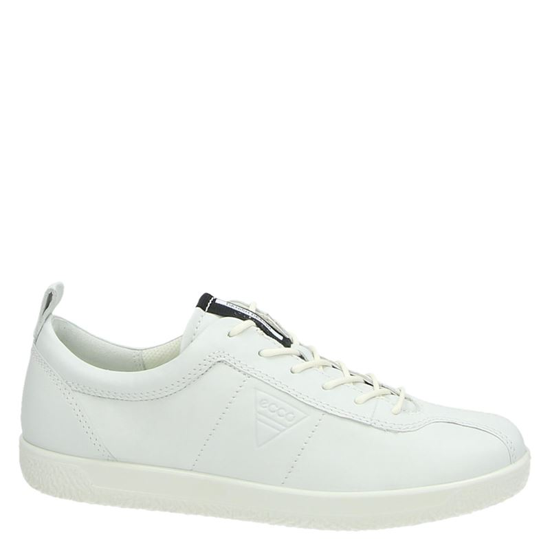 Ecco Soft 1 - Lage sneakers - Wit