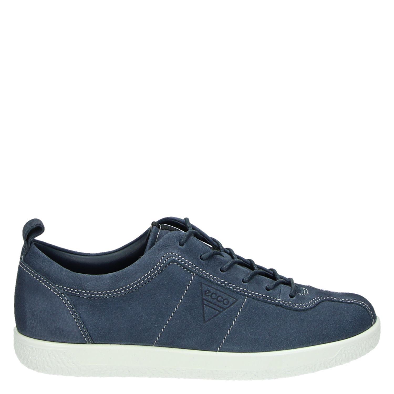 Ecco Doux Un Faible Chaussures De Sport Bleu fIW1x8Z