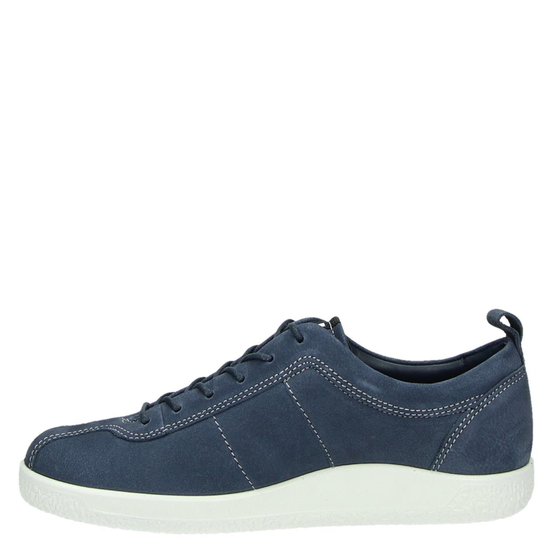 Ecco Doux Un Faible Chaussures De Sport Bleu kqARa