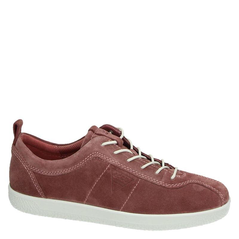 Ecco Soft 1 - Lage sneakers - Roze