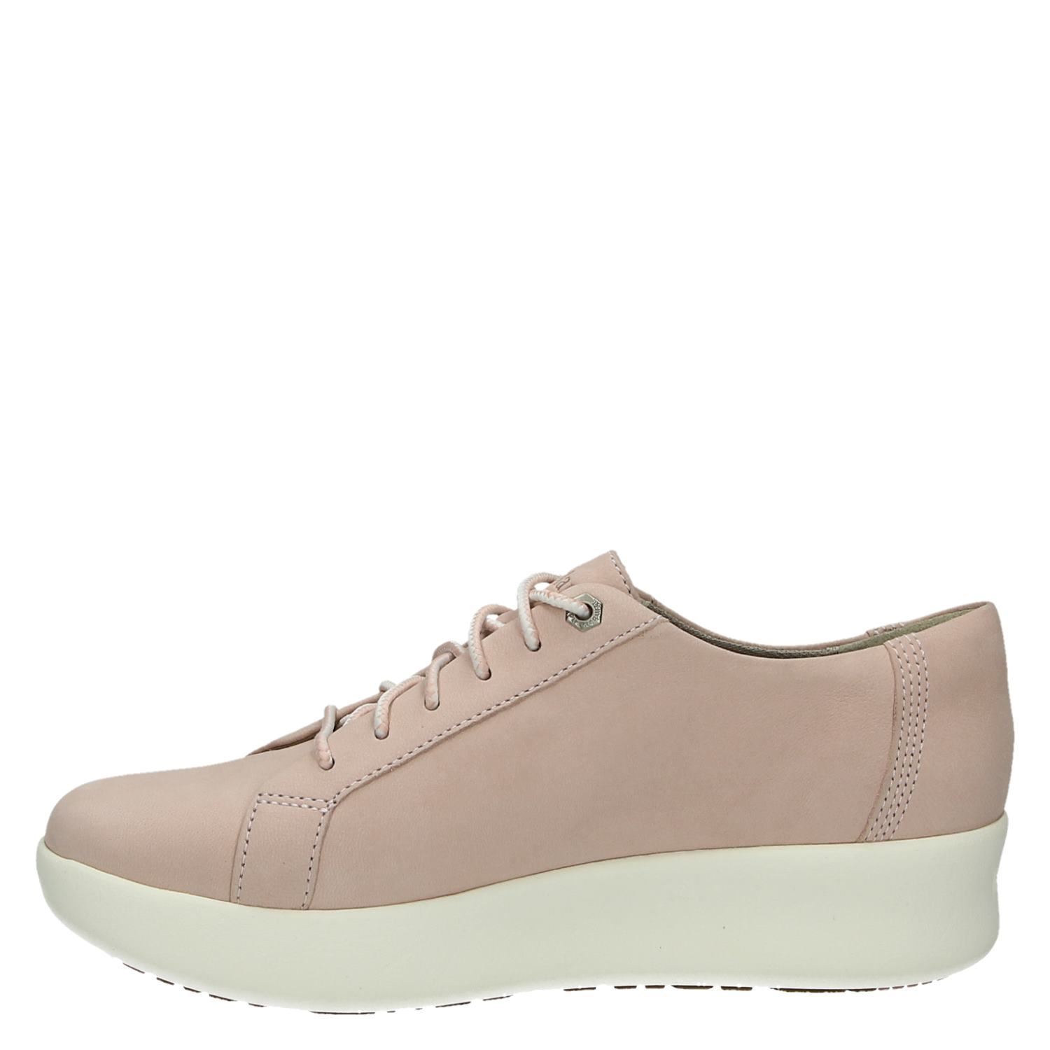 Timberland lage sneakers roze