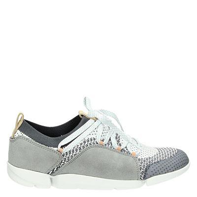 Clarks dames sneakers grijs