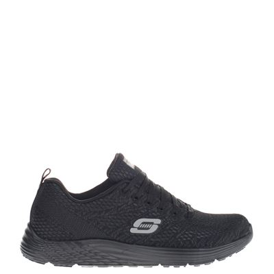 Skechers dames sneakers zwart