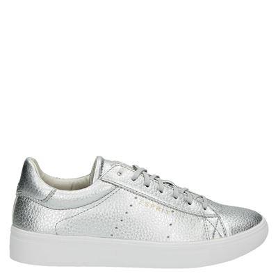 Esprit dames lage sneakers zilver
