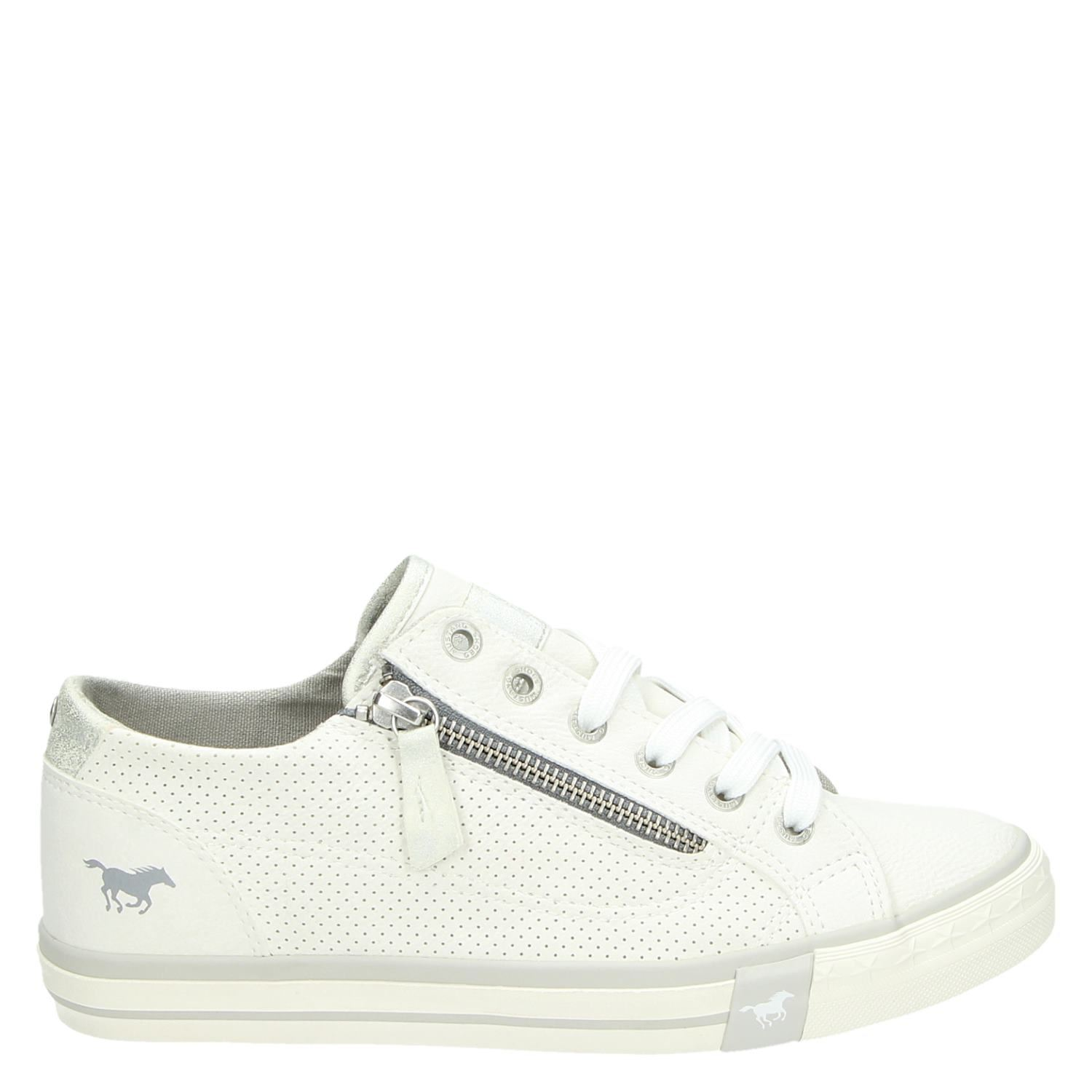 Chaussures Blanc Mustang wCP53Xj