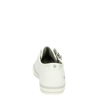 Mustang dames lage sneakers Wit