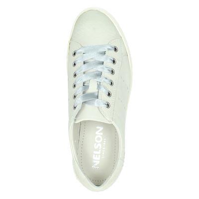 Nelson dames lage sneakers Grijs