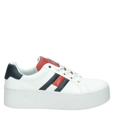 Tommy Jeans dames sneakers wit