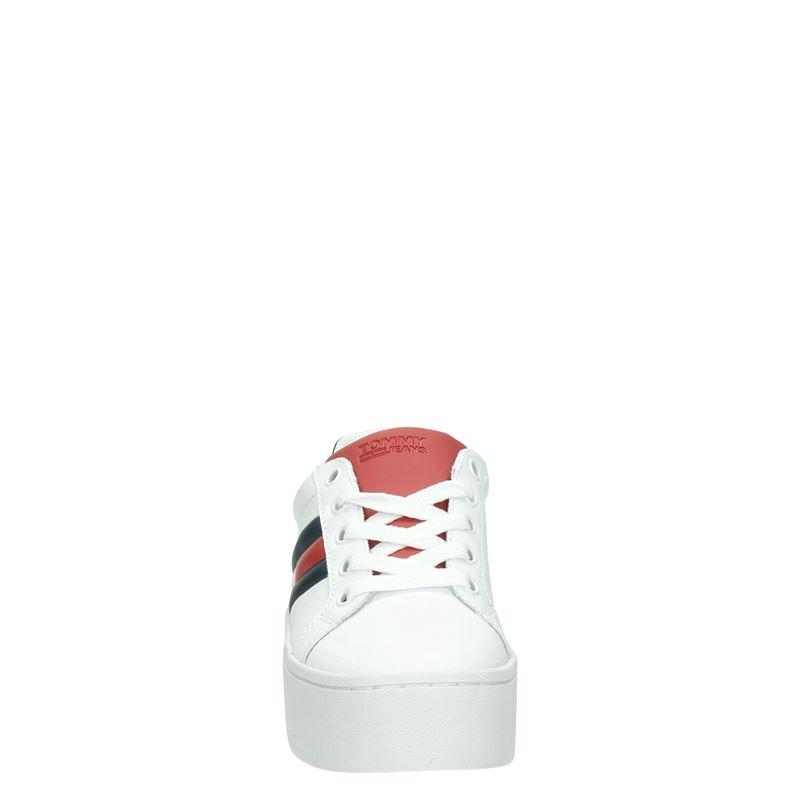 Tommy Jeans Icon Sneaker - Platform sneakers - Wit