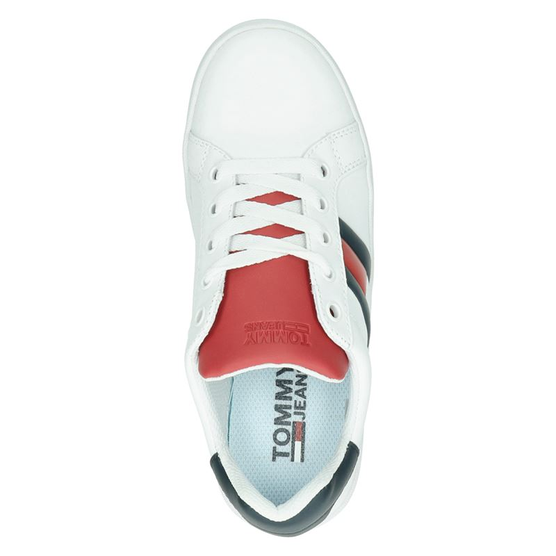 Tommy Jeans Icon Sneaker - Platform sneakers - Wit