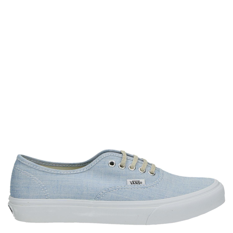 6f4e8763c06 Vans Authentic Slim dames lage sneakers blauw