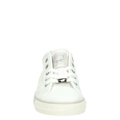 Mustang dames lage sneakers Wit