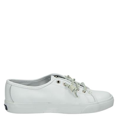 Sperry dames lage sneakers wit