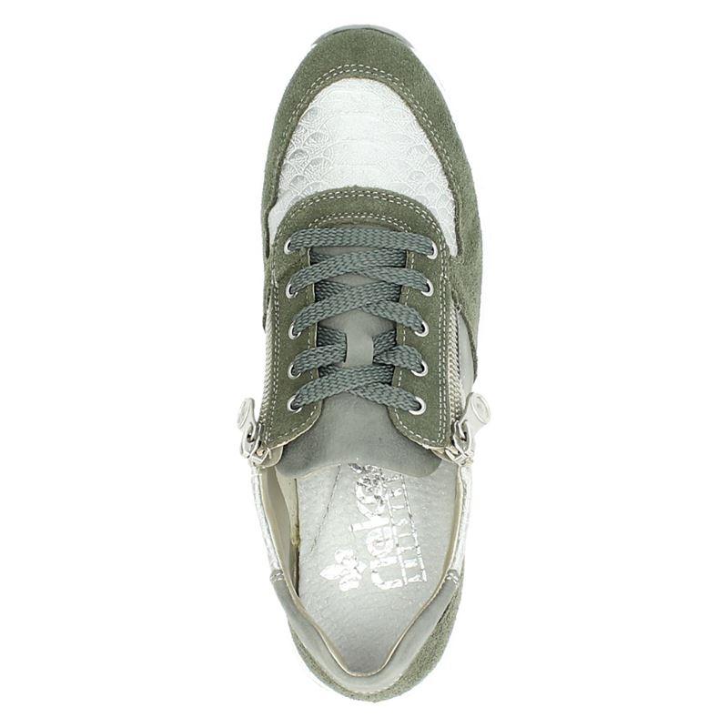 Rieker - Lage sneakers - Groen