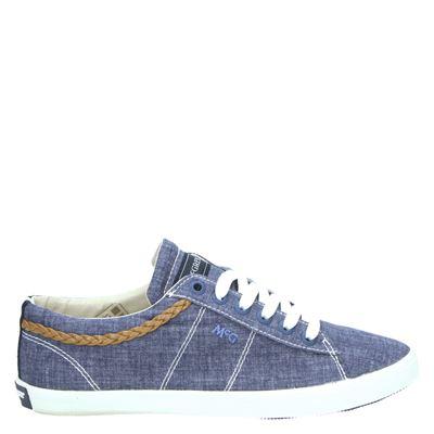 McGregor dames lage sneakers blauw