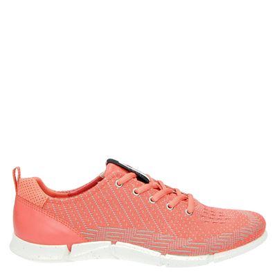 Ecco dames lage sneakers roze