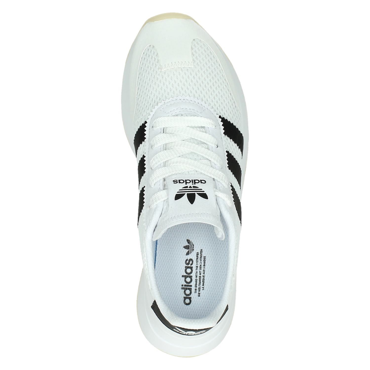 Adidas Flashback dames lage sneakers wit