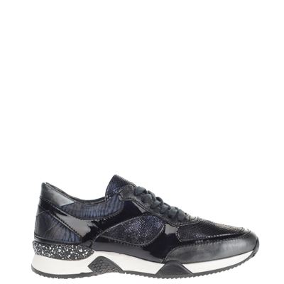 Mjus dames sneakers blauw