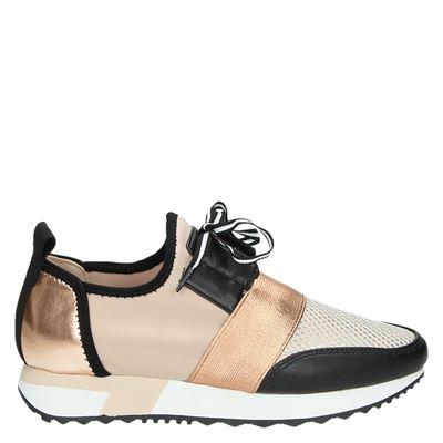 Steve Madden dames sneakers rose goud