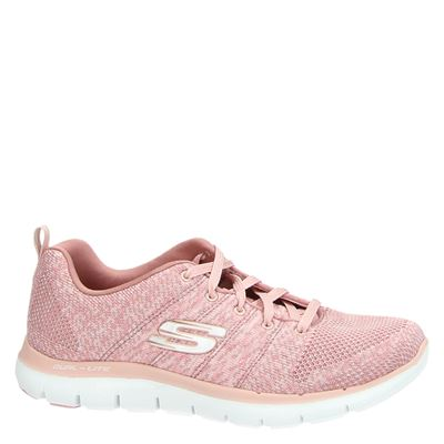 Skechers dames lage sneakers Roze