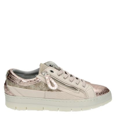 Bullboxer dames lage sneakers rose goud