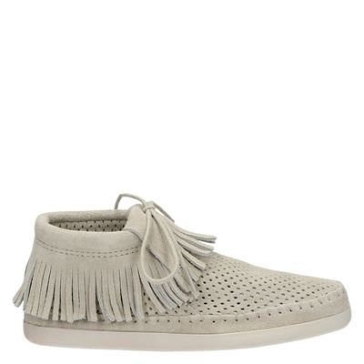 Minnetonka dames moccasins & loafers grijs