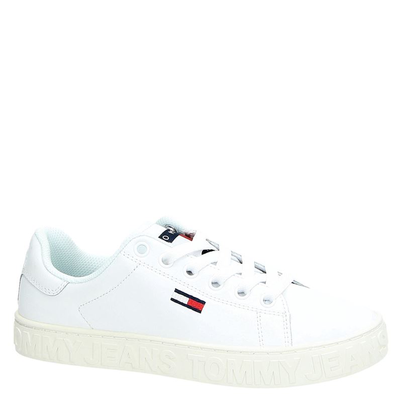 Tommy Jeans - Lage sneakers - Wit