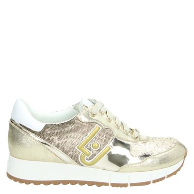 LIU-JO dames sneakers goud