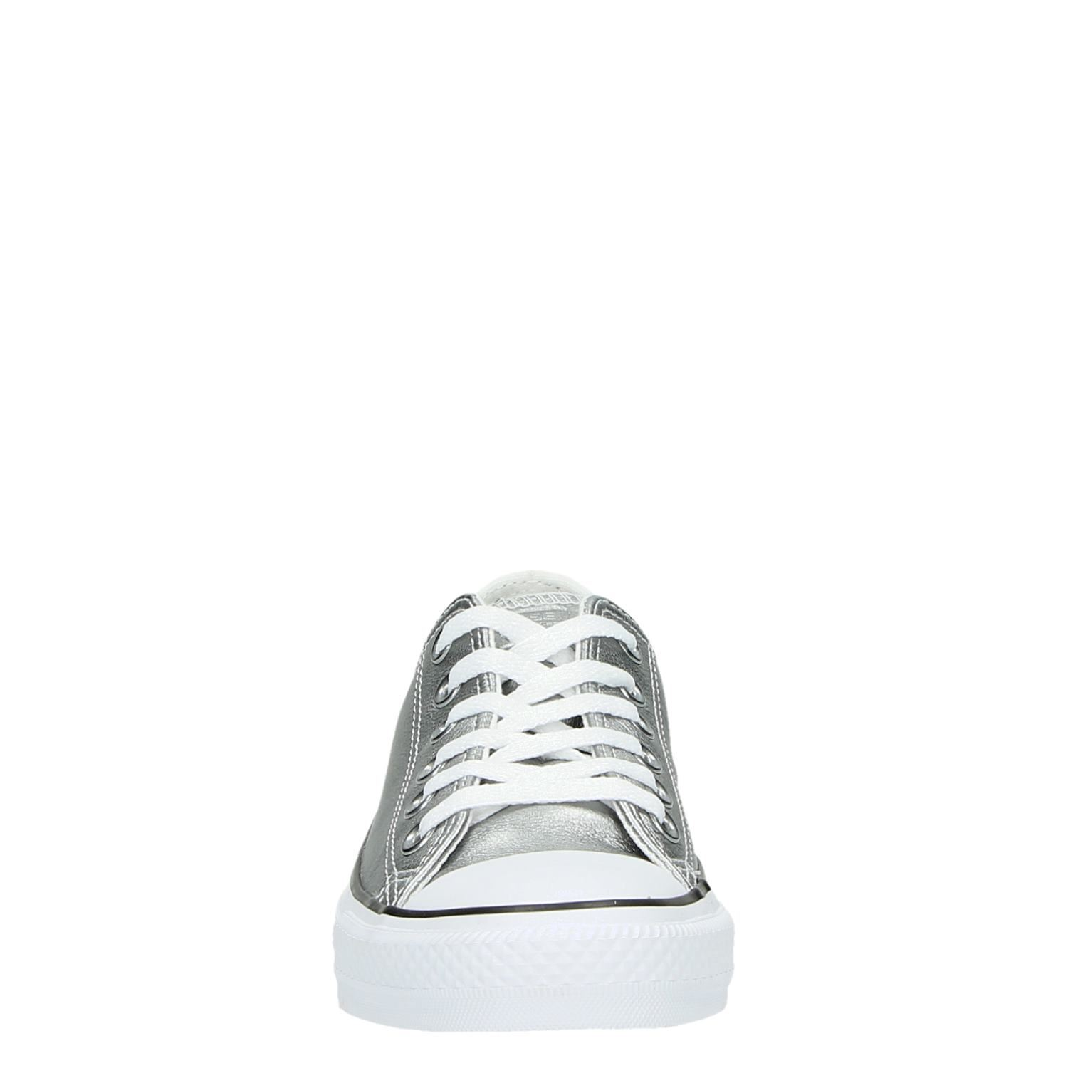 Converse All Star Lage Dames Sneakers Zilver m0wN8n