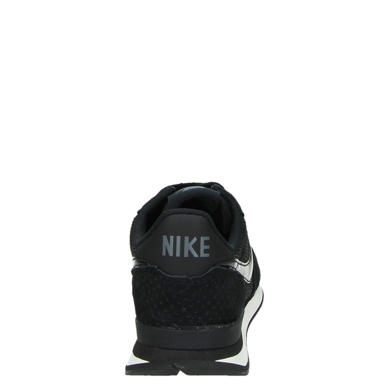 Nike Internationalist dames lage sneakers Zwart Suede Nylon