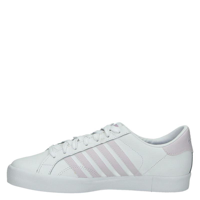 K-Swiss Belmont - Lage sneakers - Wit