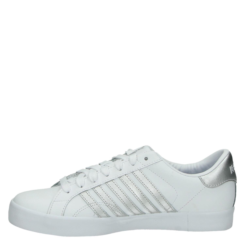 a119b866a70 K-Swiss Belmont dames lage sneakers wit