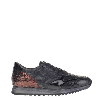 Mjus dames sneakers zwart