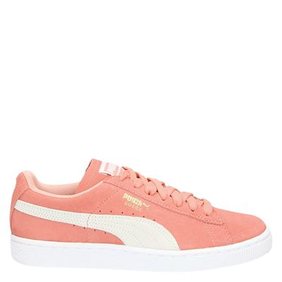 Puma dames veterschoenen roze