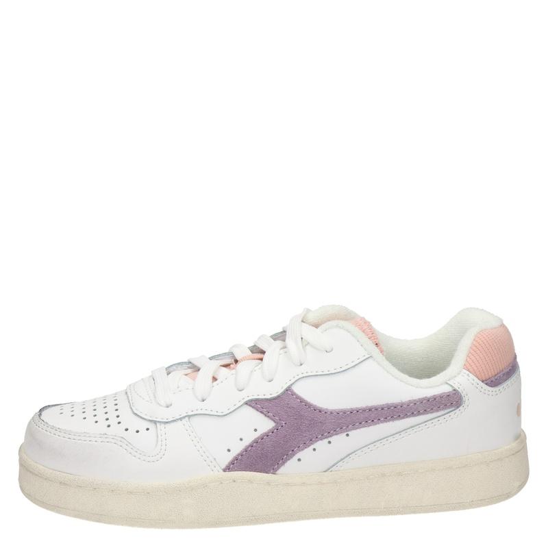 Diadora Mi Basket Low Icona - Lage sneakers - Wit