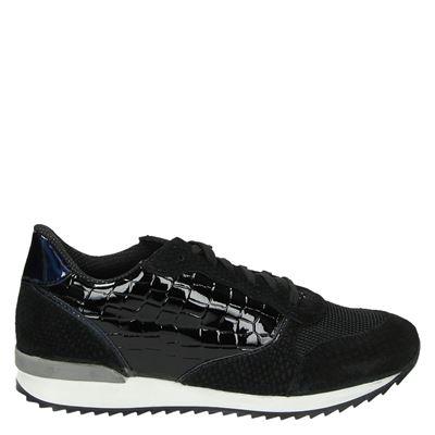 888c9162560 PS Poelman dames lage sneakers zwart