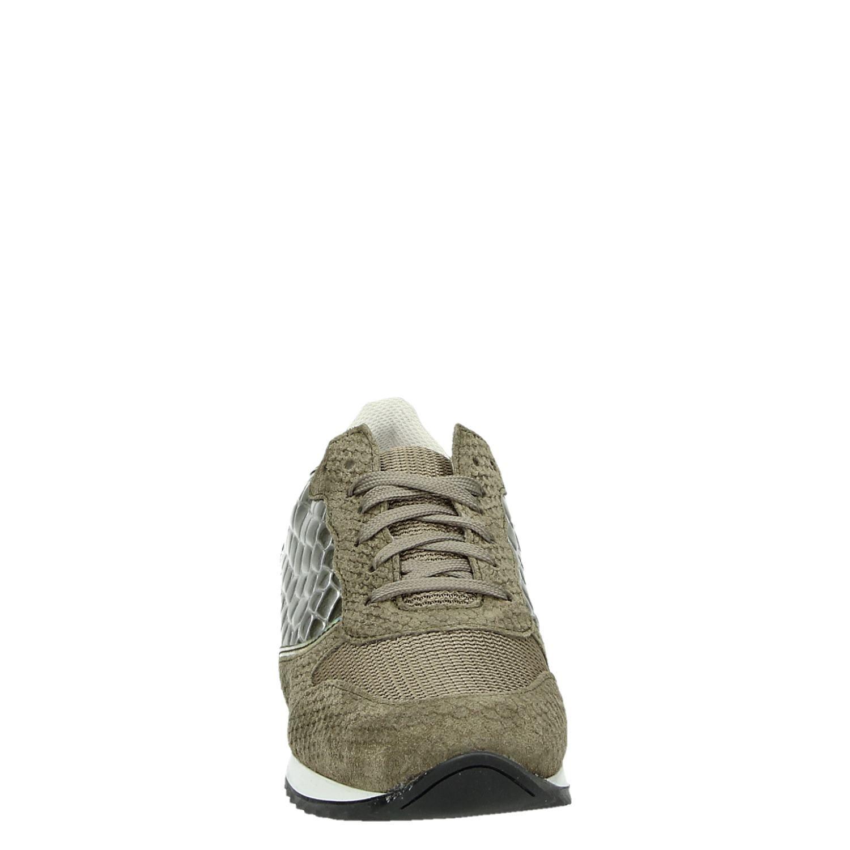 Groen Poelman Sneakers Lage Ps Dames VzMpSU