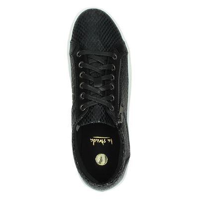 La Strada dames lage sneakers Zwart