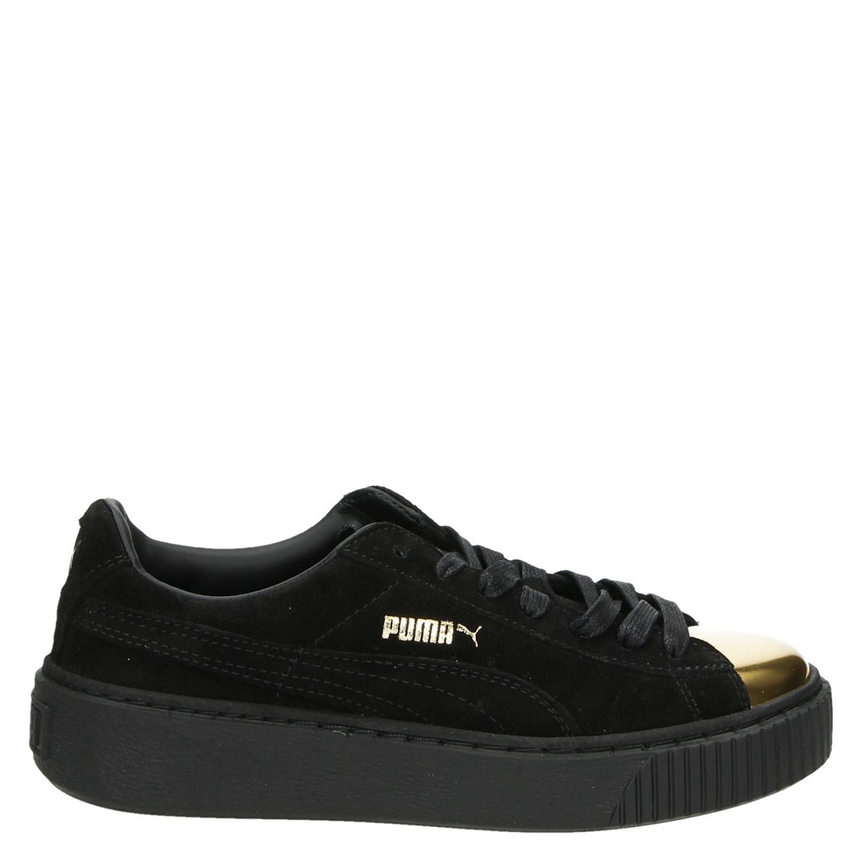 - Puma Suede platform lage sneakers