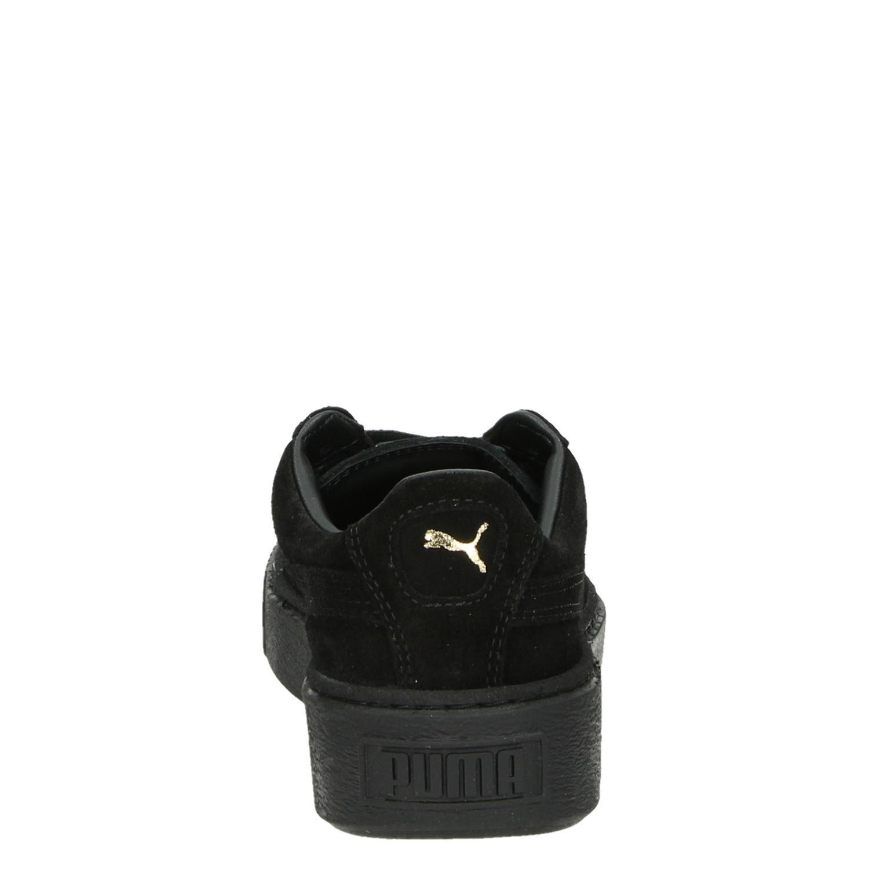 Zwarte suède dames sneaker 366418 | PUMA | Sneakers