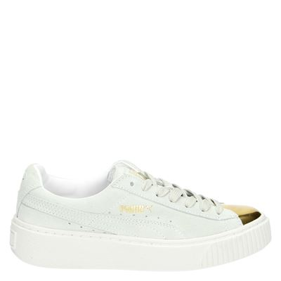 Puma dames lage sneakers wit