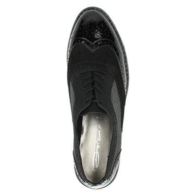 Dolcis dames veterschoenen Zwart