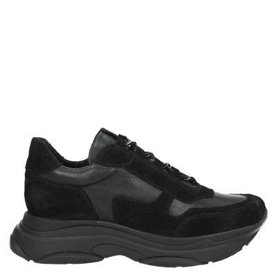 Nelson by Moderosa dames sneakers zwart
