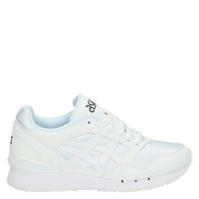 Asics dames lage sneakers wit